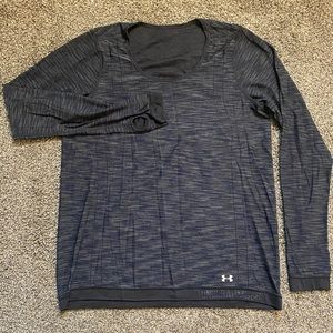 Under Armour dri-fit reversible athletic top